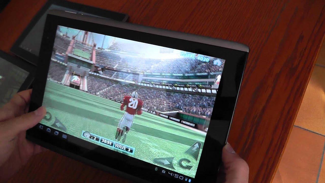 Motorola Xoom vs Asus eeePad vs Acer Iconia vs LG Optim ...