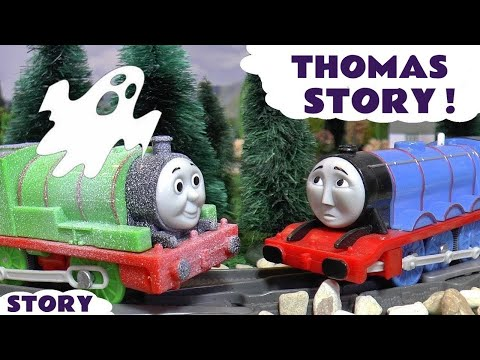 Thumbnail: Thomas and Friends Spooky Prank with Gordon & Percy Toy Trains Family Fun for kids Halloween TT4U