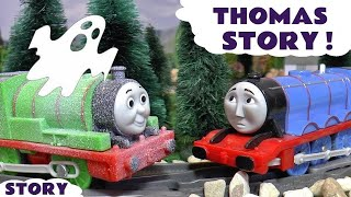 thomas and friends spooky prank with gordon percy toy trains family fun for kids halloween tt4u