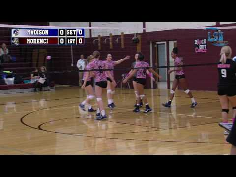 Madison Trojans vs Morenci Bulldogs (2016 Volleyball)