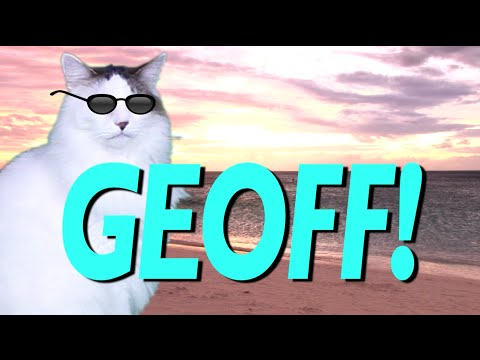 HAPPY BIRTHDAY GEOFF EPIC CAT Happy Birthday Song YouTube