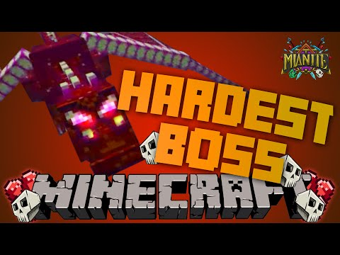 Minecraft Mianite Mod Pack | The Hardest Boss In MineCraft!!! Ender Guardian