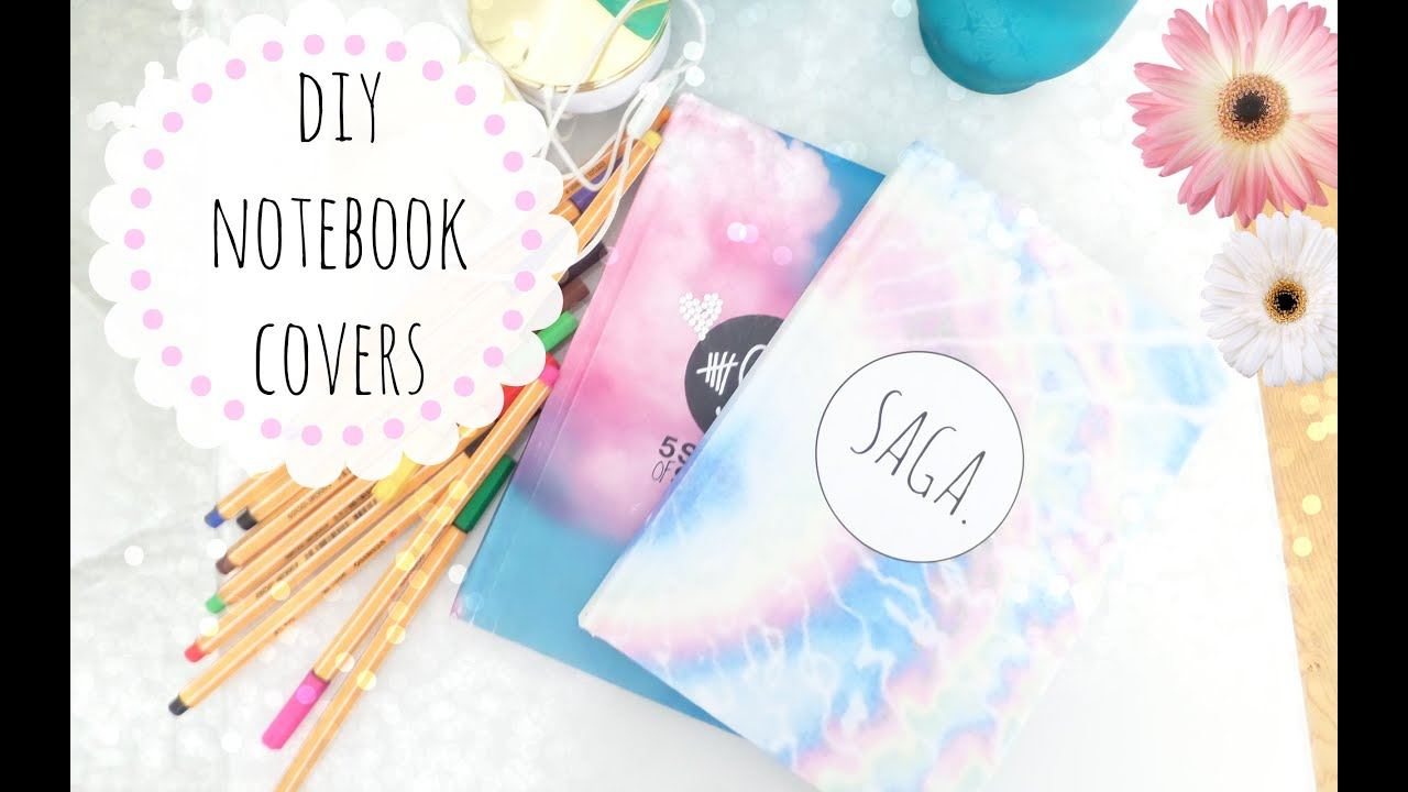Diy Notebook Cover Ideas : Diy notebook cover design craftbnb