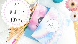 ❀DIY customized notebook covers❀ Thumbnail