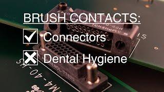 Video Amphenol Aerospace: Brush Contacts vs. Dental Hygiene
