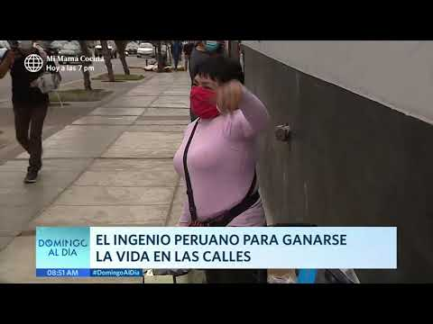 Domingo al Día: El ingenio peruano para ganarse la vida en las calles
