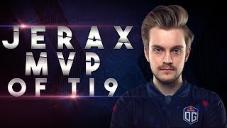 OG.JerAx - Support MVP of TI9 - The International 2019 Dota 2