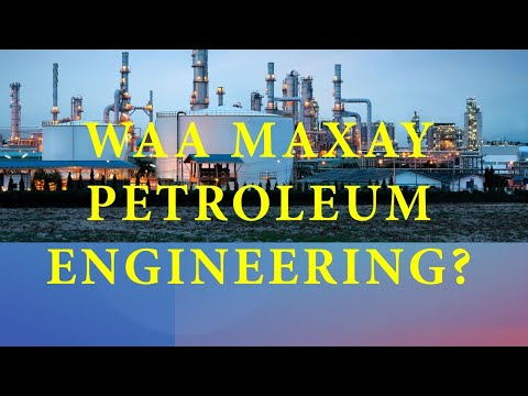 Waa Maxay Petroleum Engineering ?