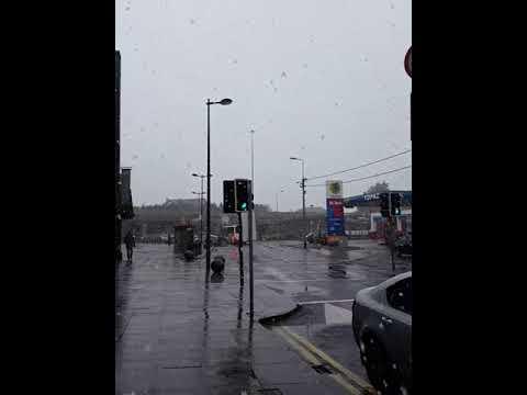 The snow in Douglas, Cork