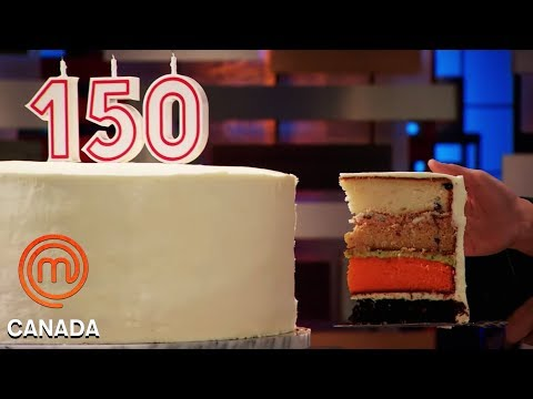 How To Taste & Recreate A Cake Blindfolded! | MasterChef Canada | MasterChef World