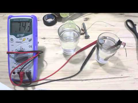 [Thử nghiệm] - làm pin từ nước muối