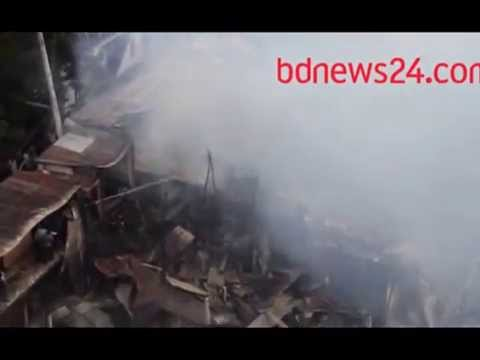150 families lose everything in fire at Dhaka's Badda