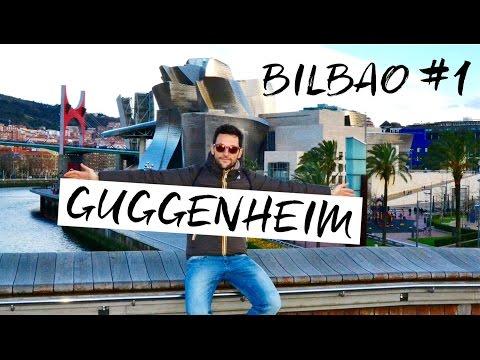 Documentario di viaggio: BILBAO #1 cosa fare e vedere? Guggenheim Museum VLOG
