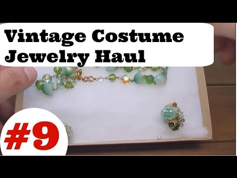 Vintage Costume Jewelry Haul #9 -  High End Collection Ep  04