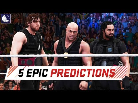 5 Epic Predictions for WWE TLC 2017 (WWE 2K18)