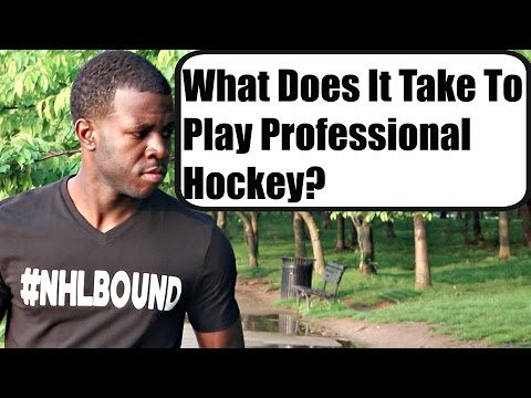 What Does It Take To Play Professional Hockey? - Vlog 8