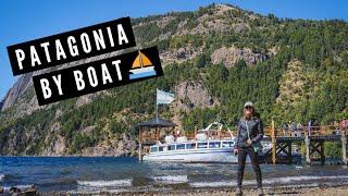 PATAGONIA BY BOAT ?️ | Cruising on Glacial Lake Lacar in San Martín de los Andes, Argentina ??