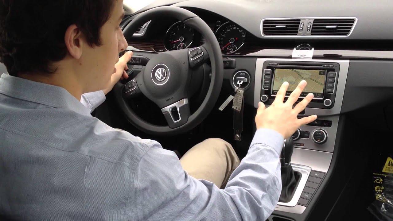volkswagen cc interior tour youtube