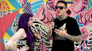 interview with chris motionless of motionless in white at vans warped tour 2018