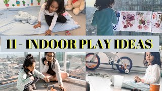 11- Indoor Play & Activity Ideas Zero Cost For 2-4 Years Old