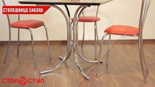 Столешница Сакура. Обзор стола от Стол и Стул