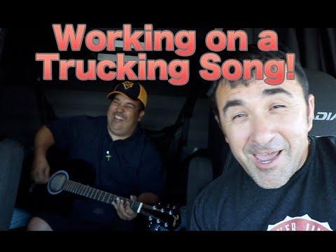 Working on a Trucking Song, Day 030 Trucker Jim's Truckin Journey