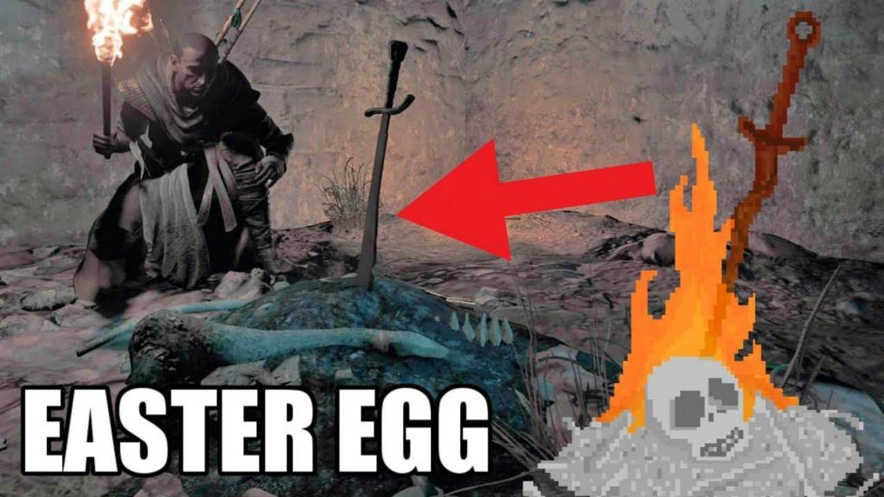 Assassin's Creed Origins - Dark Souls Easter egg