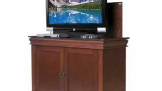 Discontinued - Touchstone Cambridge End Of Bed Tv Lift Cabinet