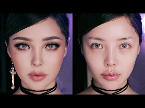 ✨Brown cut crease Makeup 브라운 컷 크리즈 메이크업✨