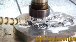 Пресс форма для изготовления прокладки (микрофреза)