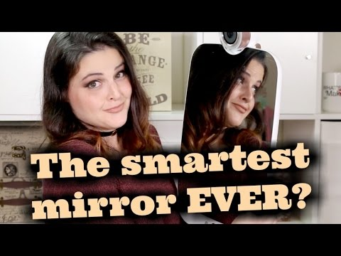 The Skin Care Analysis MIRROR! Is This for REAL? HiMirror Demonstration & Review | Jen Luvs Reviews