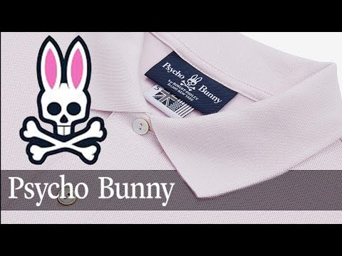 Psycho Bunny - classic polo - unboxing