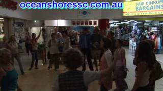 Ocean Shores Shopping Centre Flash Mob December 2012