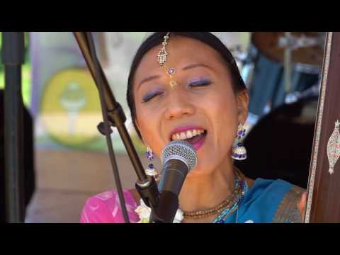 LA Rathayatra 2017_ Temple Bhajan Band Performance —