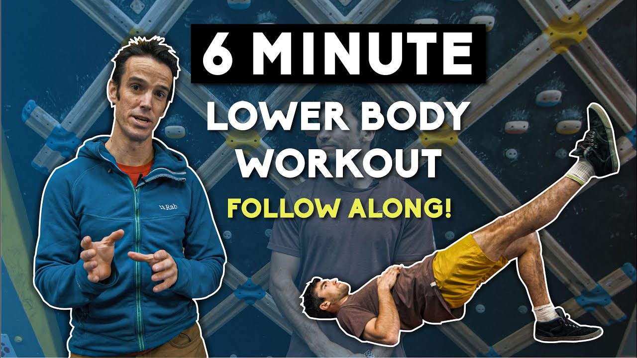 6 Minute Lower Body Climbing Workout