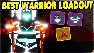 THE *BEST* POSSIBLE WARRIOR LOADOUT IN THE UNDERWORLD | Roblox: Dungeon Quest