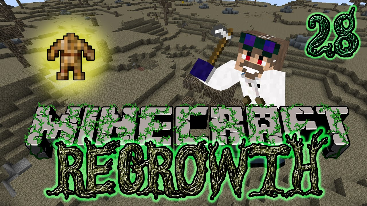 Straw Golem Ftb Regrowth Modpack Episode 28 Youtube