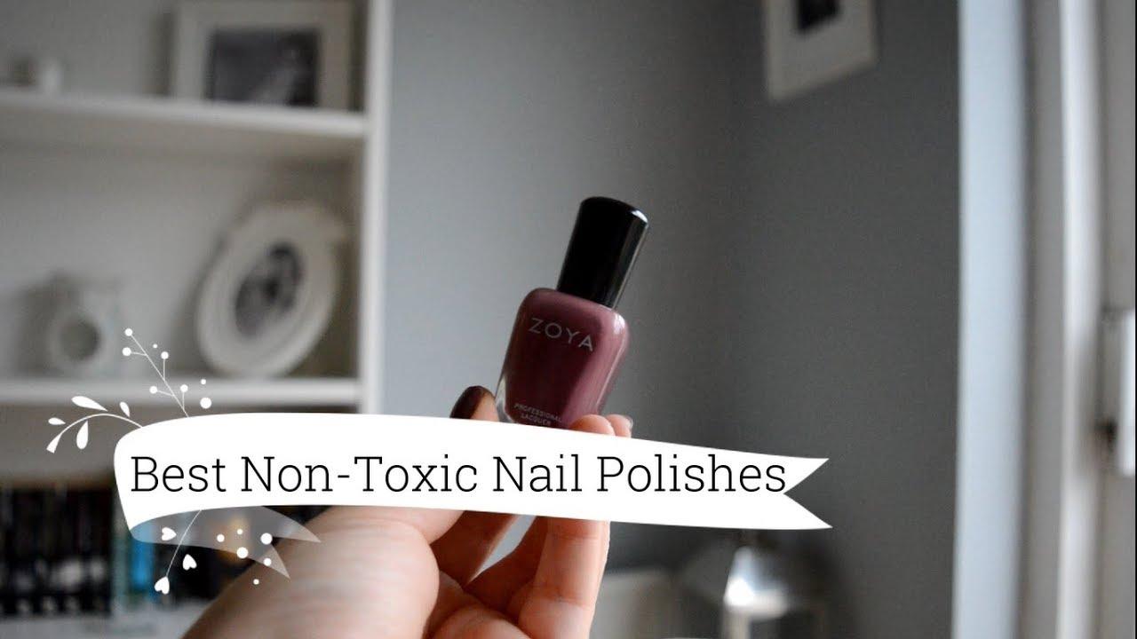 My Best Natural Nail Polishes/ Non-Toxic Nail Polishes - YouTube