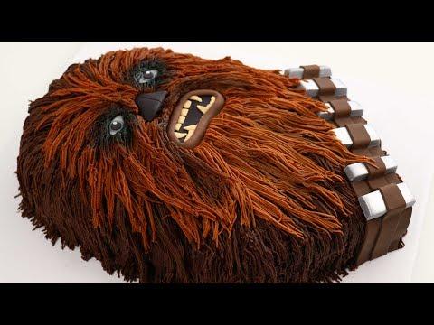 Chocolatey Chewbacca CAKE - STAR WARS:The Last Jedi