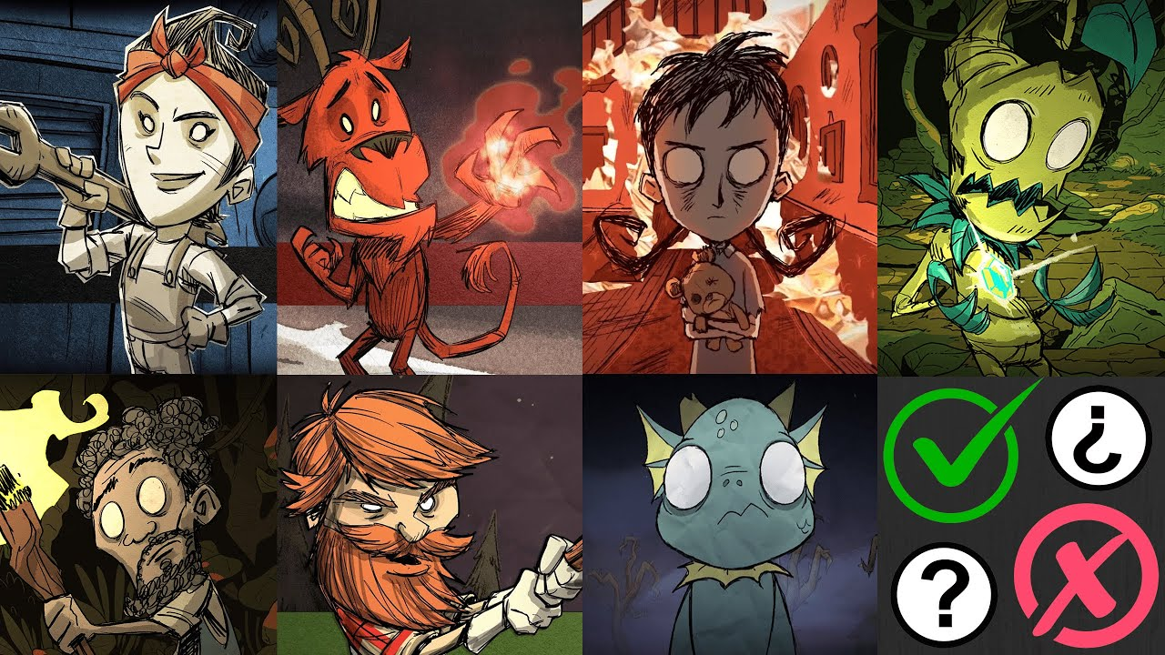 Don T Starve Characters