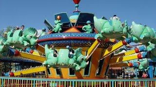 360º Ride on TriceraTop Spin at Disney's Animal Kingdom