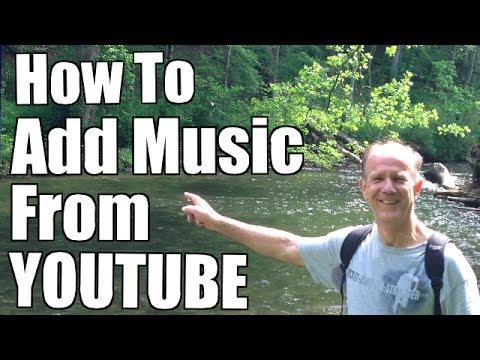 How To Add Music From YouTube To Your Video