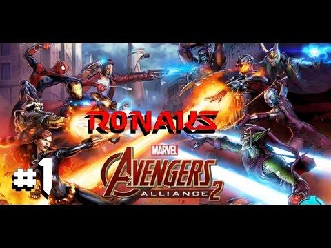 Прохождение Marvel Avengers alliance 2/Мстители 2 #1 - Первый взгляд