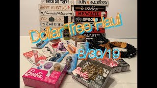Dollar Tree Haul| New Finds 8/30/19