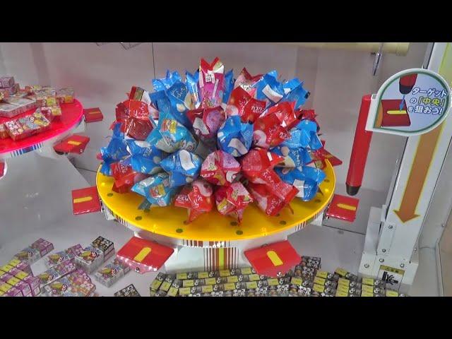 【新台】ガッツリ意味不明ですが、お菓子をスッキリ大量GETする最新ゲーム「ゲッタースピン」ww