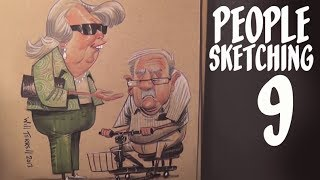 How to draw from your imagination - people sketching - episode 9