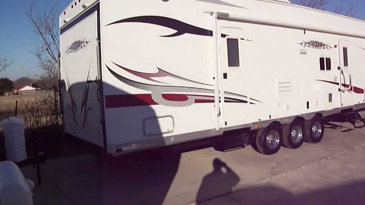 2007 Vortex Toy Hauler Fifth Wheel Toy Haulers For Sale