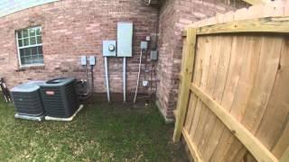 Home Inspection- Water Leak