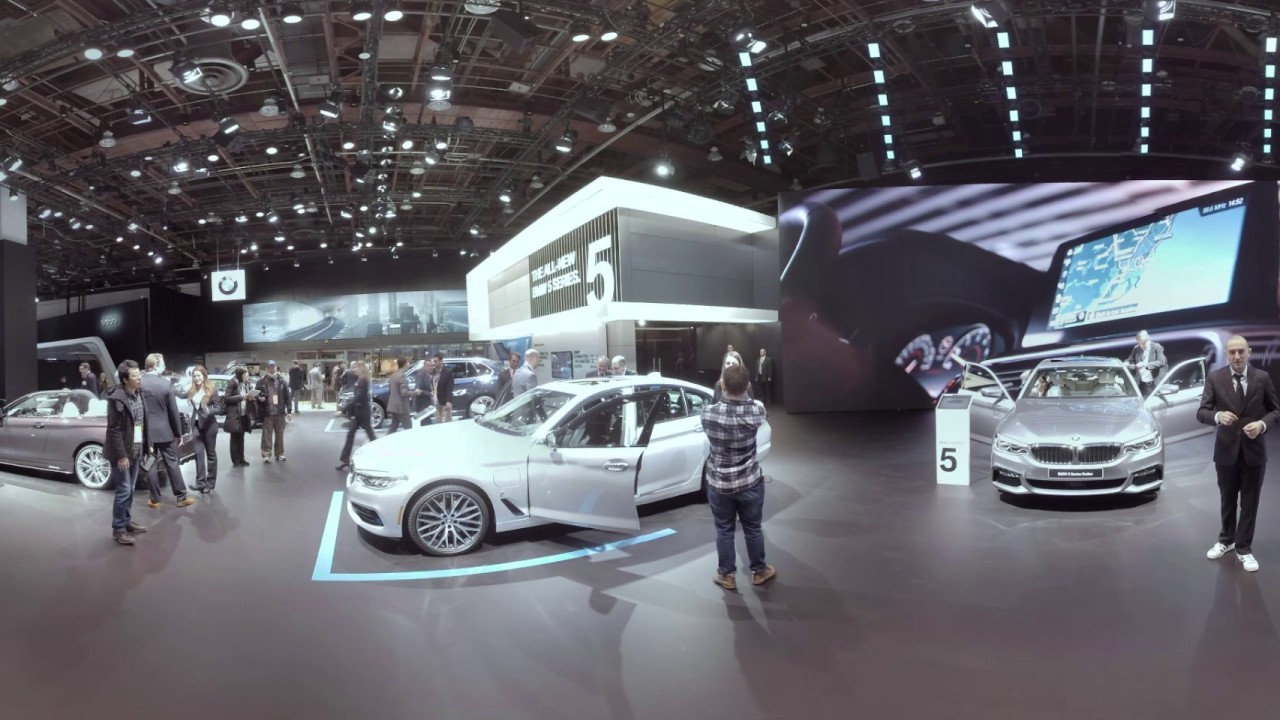 BMW In VR Booth Tour At The Detroit Auto Show YouTube - Car show booth