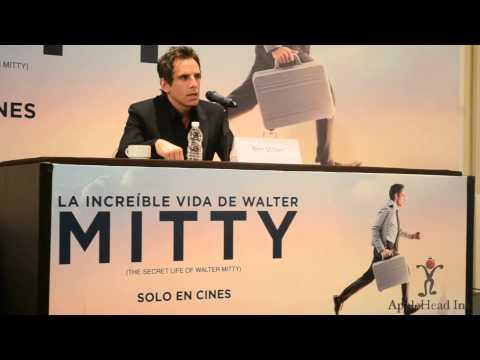 Conferencia de Prensa - Ben Stiller- La Vida Secreta de Walter Mitty